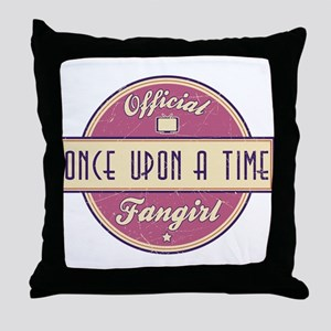 Official Once Upon a Time Fangirl Throw Pillow
