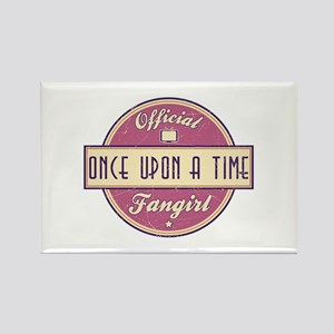Official Once Upon a Time Fangirl Rectangle Magnet