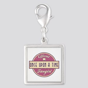Official Once Upon a Time Fangirl Silver Square Ch
