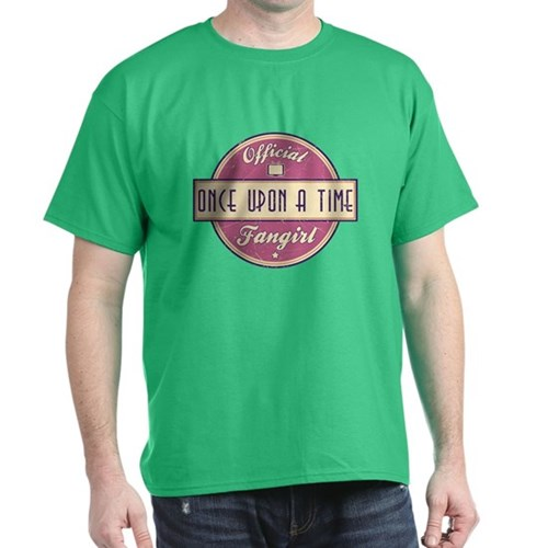 Official Once Upon a Time Fangirl Dark T-Shirt