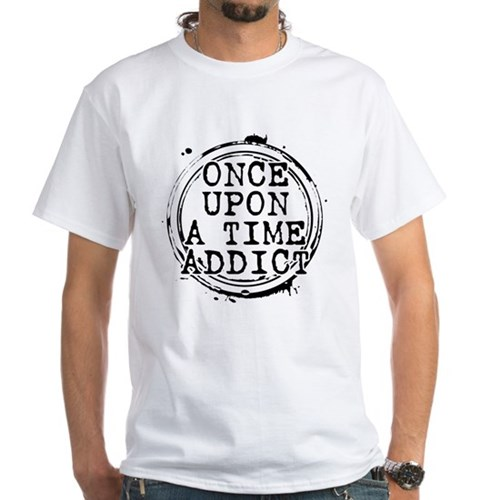 Once Upon a Time Addict Stamp White T-Shirt