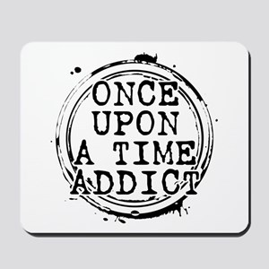 Once Upon a Time Addict Stamp Mousepad