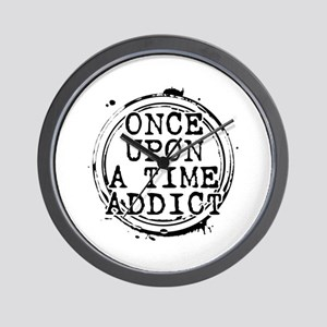 Once Upon a Time Addict Stamp Wall Clock
