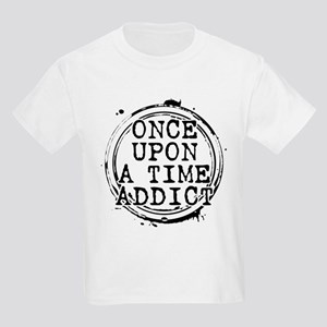 Once Upon a Time Addict Stamp Kids Light T-Shirt