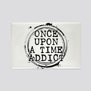Once Upon a Time Addict Stamp Rectangle Magnet