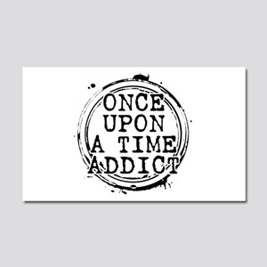 Once Upon a Time Addict Stamp Car Magnet 20 x 12