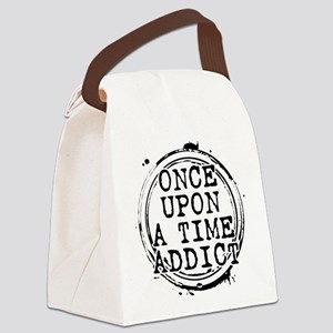 Once Upon a Time Addict Stamp Canvas Lunch Bag