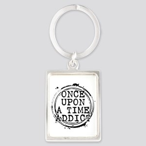 Once Upon a Time Addict Stamp Portrait Keychain