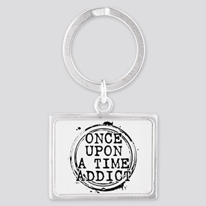 Once Upon a Time Addict Stamp Landscape Keychain