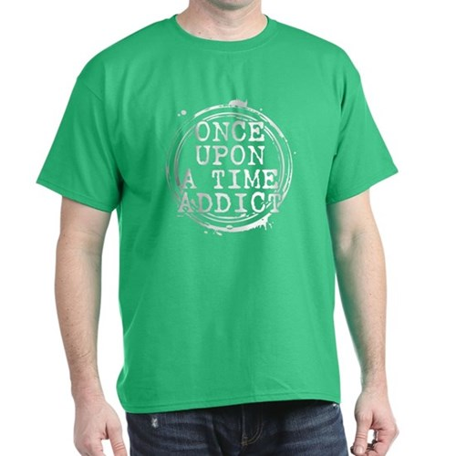Once Upon a Time Addict Stamp Dark T-Shirt