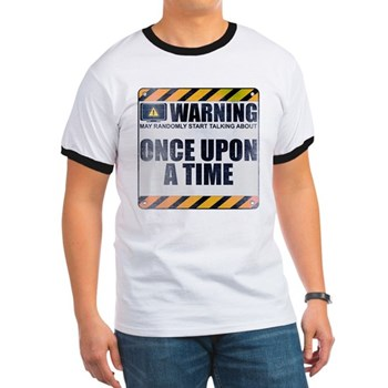 Warning: Once Upon a Time Ringer T-Shirt