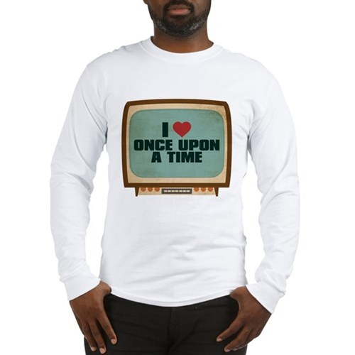 Retro I Heart Once Upon a Time Long Sleeve T-Shirt