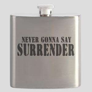 Never Gonna Surrender 2 Flask