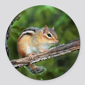Chippy Round Car Magnet