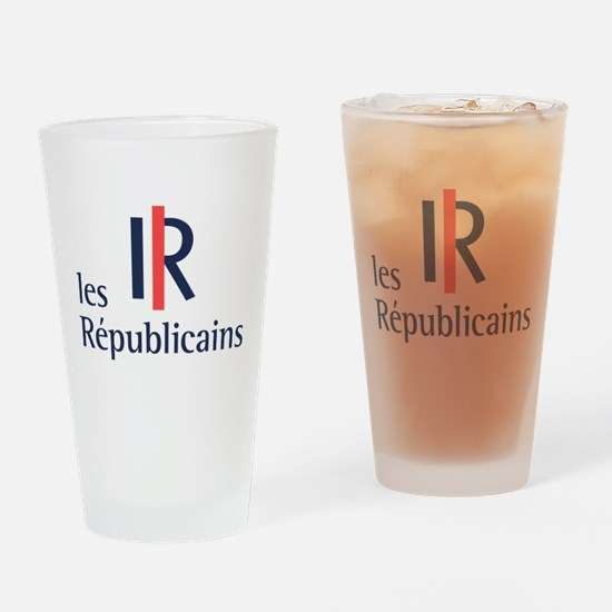 Les Republicains Drinking Glass