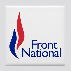 Front National Tile Coaster