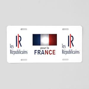 Les Republicains Aluminum License Plate
