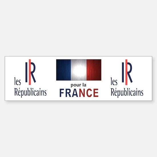 Les Republicains Sticker (Bumper)