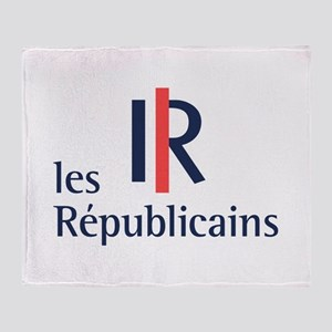 Les Republicains Throw Blanket