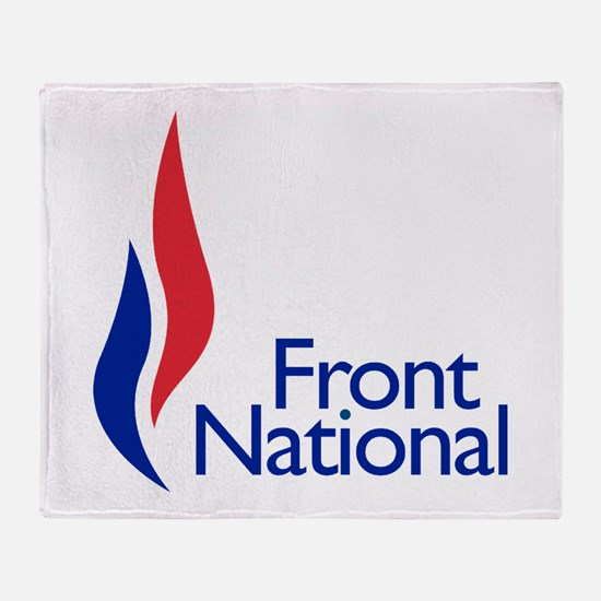 Front national Throw Blanket
