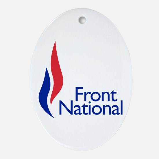 Front national Oval Ornament
