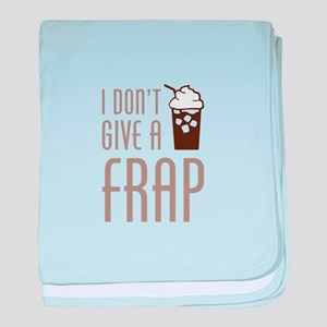 Don't Give A Frap baby blanket