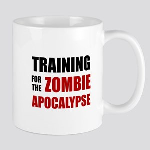 Training For The Zombie Apocalypse Mugs