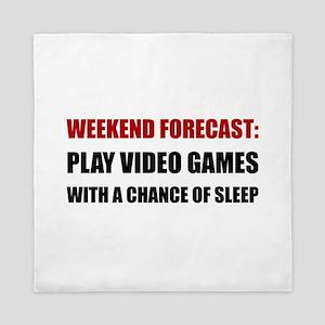 Play Video Games Sleep Queen Duvet