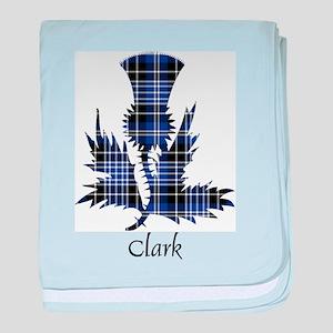 Thistle - Clark baby blanket