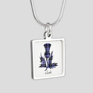 Thistle - Clark Silver Square Necklace