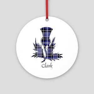 Thistle - Clark Ornament (Round)