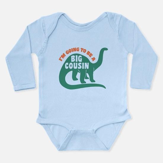 Big Cousin Long Sleeve Infant Bodysuit