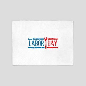 Labor Day 5'x7'Area Rug