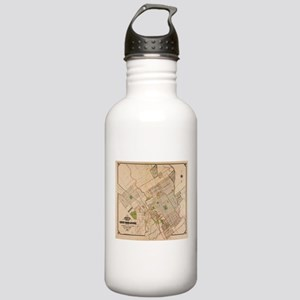 Vintage Map of San Jos Stainless Water Bottle 1.0L