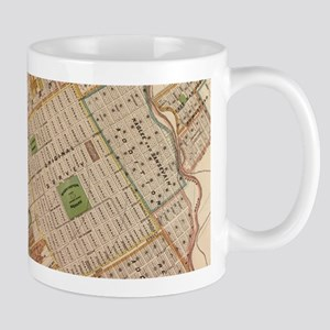 Vintage Map of San Jose California (1886) Mugs