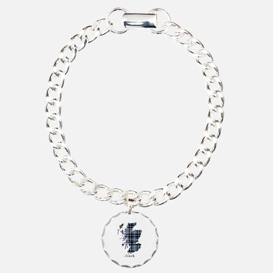 Map - Clark Charm Bracelet, One Charm