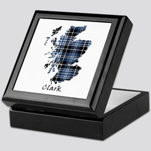 Map - Clark Keepsake Box