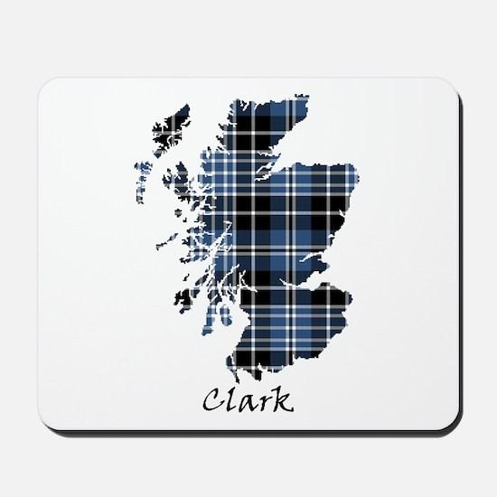 Map - Clark Mousepad