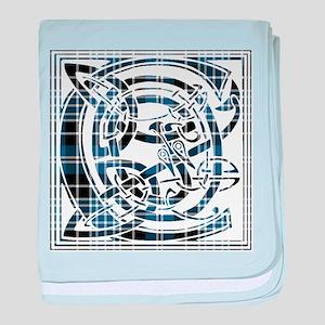 Monogram - Clark baby blanket