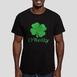 O'Reilly (Shamrock) Men's Fitted T-Shirt (dark)