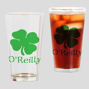 O'Reilly (Shamrock) Drinking Glass