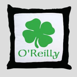 O'Reilly (Shamrock) Throw Pillow