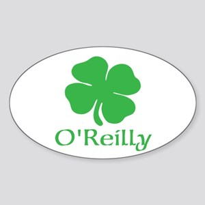 O'Reilly (Shamrock) Sticker (Oval)