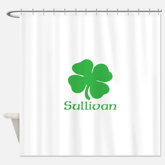 Sullivan (Shamrock) Shower Curtain