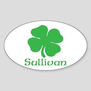 Sullivan (Shamrock) Sticker (Oval)
