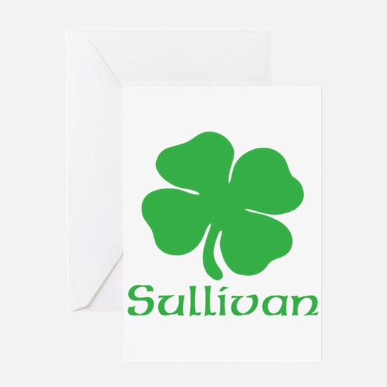 Sullivan (Shamrock) Greeting Card