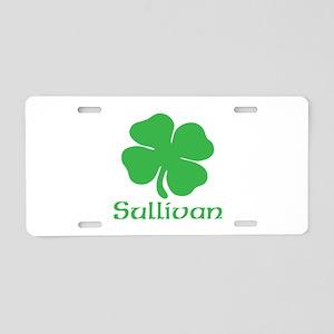 Sullivan (Shamrock) Aluminum License Plate