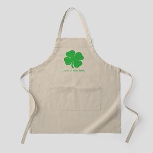 Luck o' the Irish - Shamrock Apron