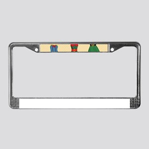Halloween Costumes License Plate Frame