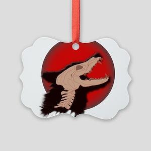 Blood Moon Werewolf Ornament